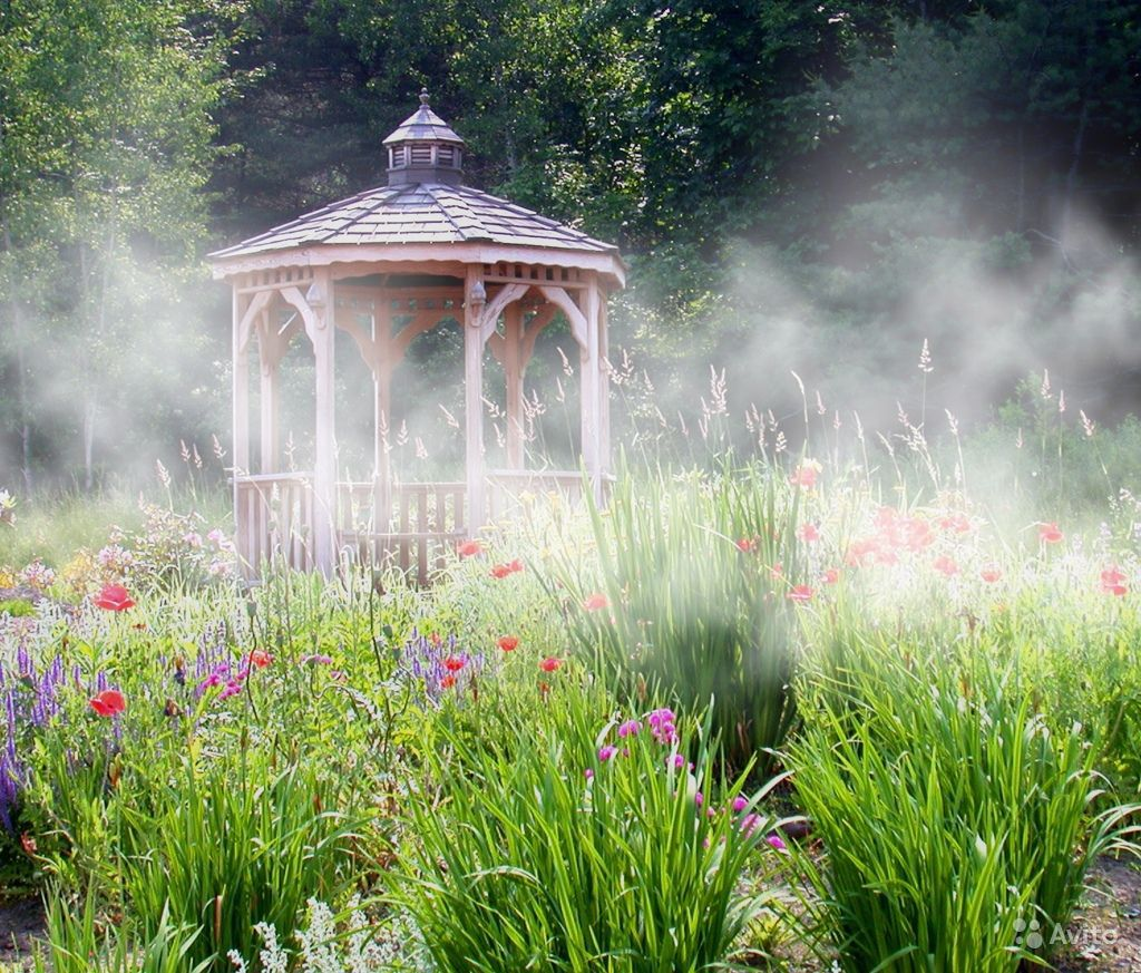 Устранение туманом пыли и запахов, борьба с летучими насекомыми Idrobase цена монтаж обслуживание ремонт купить PolivCorp.ru